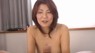 Insatiable girl Kyoko with round tits gets fucked hard in different poses