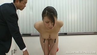 Fuckmate and excited minx Kaede Niiyama with firm tits are recording every other fucking and sucking