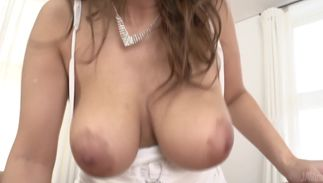 Kinky Yume Mizuki with round tits can't live without to suck big meats
