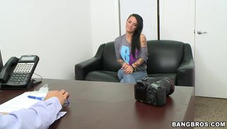 Buddy brings a present to the lovestick hungry magical breasty diva Christy Mack