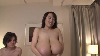 Handsome gf Hitomi Tanaka with handsome tits yearns for hardcore fuck fest